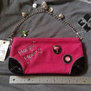 Happy Hour Fun Clutch with Chain! Party time!